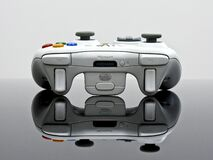 Gray Xbox 360 Game Controller Royalty Free Stock Image