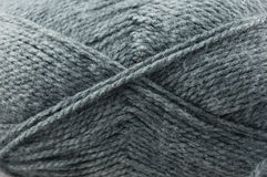 Gray yarn Stock Photos
