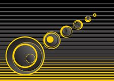 Gray and Yellow Abstract Background. This is a grey and yellow abstract background Stock Photo