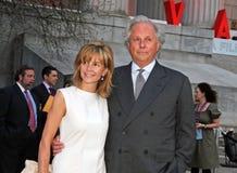 Graydon Carter and wife Anna Scott Stock Photo