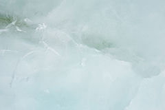 Grayish green ice texture Stock Photo