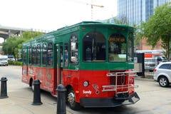 Grayline turnerar bussen, Nashville, Tennessee, USA Royaltyfri Bild