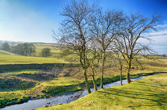 Grayrigg village in Cumbria Royalty Free Stock Photos