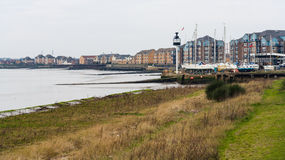Grays Essex Uk Waterside Apartments. Royalty Free Stock Photography
