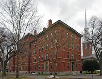 Grays Hall in cloudy ambiance Stock Image
