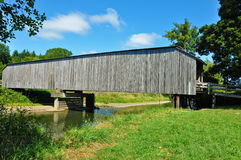 Grays River Covered Bridge Stock Images