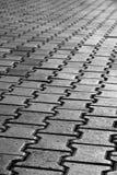 grayscale πεζοδρόμιο Στοκ φωτογραφίες με δικαίωμα ελεύθερης χρήσης