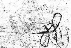 Grayscale abstrakta tło Obraz Royalty Free