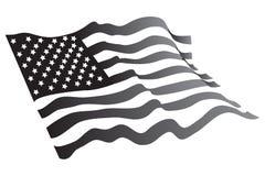 Grayscale americano Imagenes de archivo