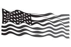 Grayscale americano Imagens de Stock