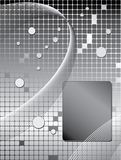 Grayscale background shapes Royalty Free Stock Photo