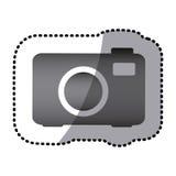 grayscale camera photo icon Stock Photos