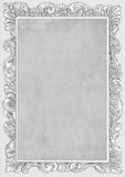 Grayscale conice for painting or postcard Vintage frame border retro. Conice for painting or postcard linework Black Conice for painting or postcard Vintage Stock Images