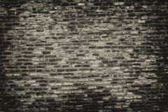 Grayscale Photo of Brickwall stock photo