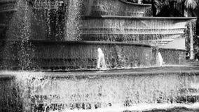 Grayscale Photo Of Fountain Stock Photos