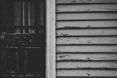 Grayscale Photo of Wall royalty free stock image