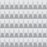 Grayscale seamless pattern geometric Royalty Free Stock Image