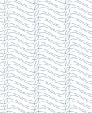 Grayscale vector seamless pattern, graphic geometric wrapping pa. Per. Abstract backdrop created with interweave black undulate lines can be used in textile and Stock Photos