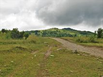 Grayson Highlands Rain Clouds fotos de stock