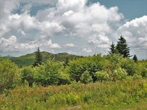 Grayson Highlands Rain Clouds foto de stock