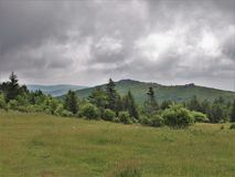 Grayson Highlands State Park em Virgínia imagem de stock royalty free