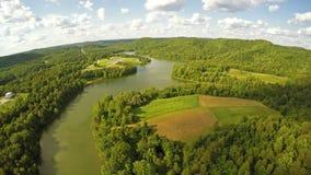 Grayson Lake State Park stock footage