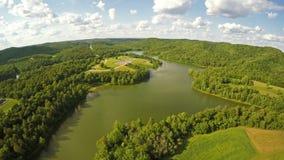 Grayson lake state park stock video footage