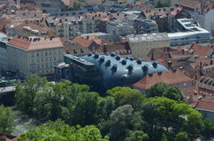 Graz Art Museum Photo stock