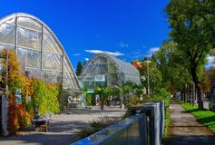 Graz botanisk trädgård Royaltyfria Bilder