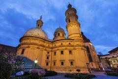 Graz Cahtedral och Katharinenkirche Fotografering för Bildbyråer
