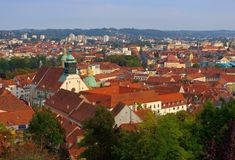 Graz cathedral Royalty Free Stock Photo