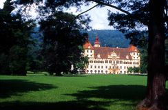Graz - château Eggenberg Photographie stock libre de droits