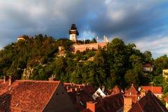 Free Graz Clock Tower. Royalty Free Stock Photos - 36773418