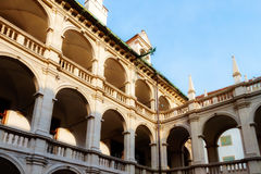 Graz Courtyard Royalty Free Stock Photography
