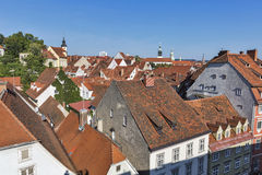 Graz downtown cityscape, Austria. Stock Image