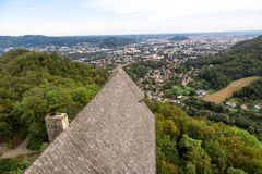Free Graz From Tower Ruin Gosting Stock Images - 110661024