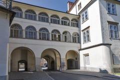 Graz gammal stadport, Österrike Royaltyfri Bild