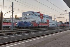 Graz Hauptbahnhof railway station, Austria. Stock Images