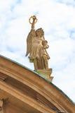 Graz Kaiser Ferdinand II Mausoleum. Rooftop Statues stock image