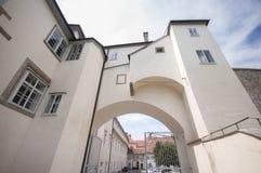 Graz kasztel - Grazer Burg, Graz, Austira, Europa, Junde 2017 Zdjęcia Royalty Free