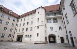 Graz kasztel - Grazer Burg, Graz, Austira, Europa, Junde 2017 Fotografia Royalty Free