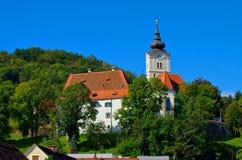 Graz kyrka Maria im Elend Royaltyfri Bild