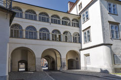 Graz old town gate, Austria Royalty Free Stock Image