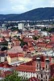 Graz, Oostenrijk Stock Foto's