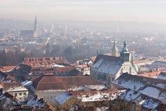 Graz panorama Royalty Free Stock Photos
