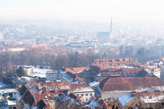 Graz panorama Royalty Free Stock Image