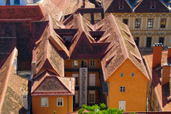 Graz Rooftops Royalty Free Stock Photos