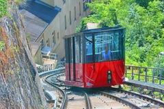 Graz Schlossberg Funicular Railway Stock Images