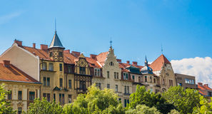 Street Buildings in Graz Austria Stock Photos