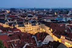 Graz townhall Stock Photography